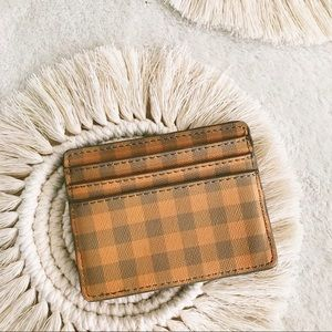 Urban Outfitters | Gingham ID And Card Wallet